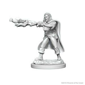 D&D Nolzur's Marvelous Miniatures - Human Male Sorcerer (2 Miniature)