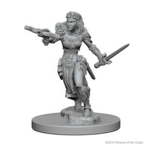 D&D Nolzur's Marvelous Miniatures - Elf Female Ranger (2 Miniature)