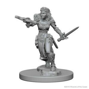D&D Nolzur's Marvelous Miniatures - Elf Female Ranger (2 Miniature)