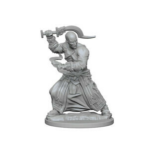 Pathfinder Nolzur's Marvelous Miniatures - Human Male Monk (2 Miniature)