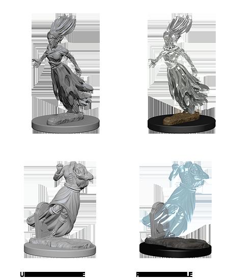 D&D Nolzur's Marvelous Miniatures - Ghosts (2 Miniature)