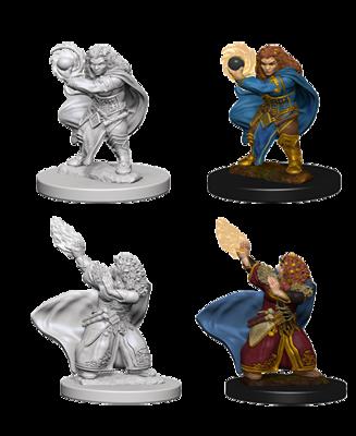 D&D Nolzur's Marvelous Miniatures - Dwarf Female Wizard (2 Miniature)
