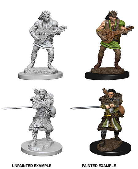 D&D Nolzur's Marvelous Miniatures - Human Male Bard (2 Miniature)