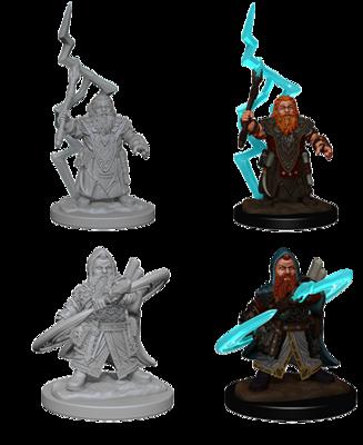 Pathfinder Nolzur's Marvelous Miniatures - Dwarf Male Sorcerer (2 Miniature)