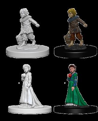 Pathfinder Nolzur's Marvelous Miniatures - Children (2 Miniature)