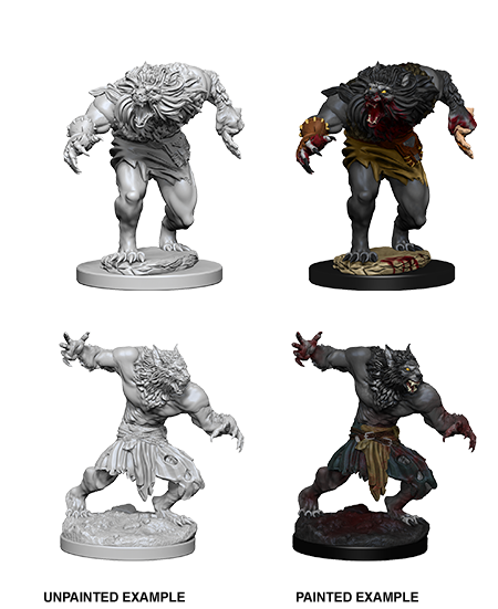 D&D Nolzur's Marvelous Miniatures - Werewolves (2 Miniature)