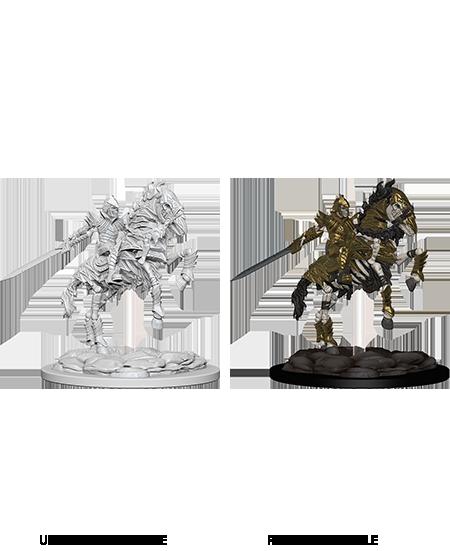D&D Nolzur's Marvelous Miniatures - Skeleton Knight on Horse (1 Miniatura)