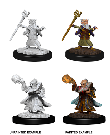 D&D Nolzur's Marvelous Miniatures - Male Gnome Wizard (2 Miniature)