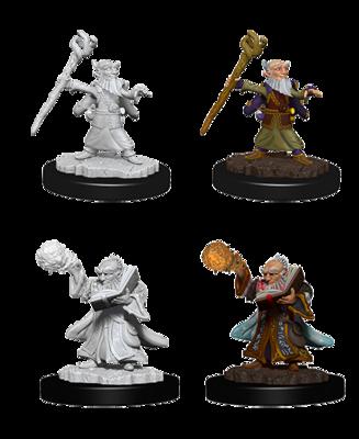 D&D Nolzur's Marvelous Miniatures - Male Gnome Wizard (2 Miniature)