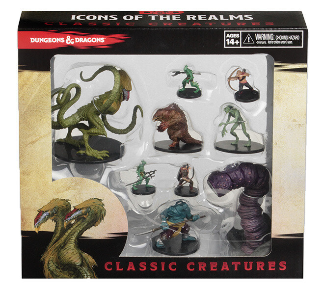 D&D Classic Creatures - Icon of the Realms