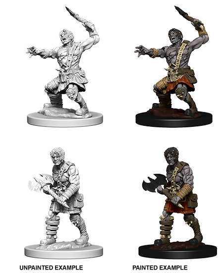 D&D Nolzur's Marvelous Miniatures - Nameless One  (2 Miniature)