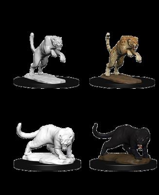 Pathfinder Nolzur's Marvelous Miniatures - Panther & Leopard (2 Miniature)