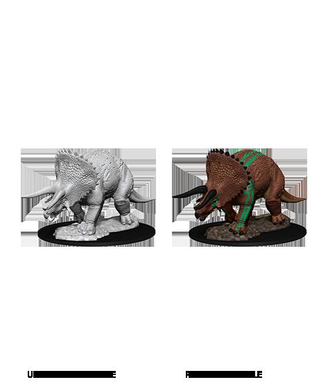 D&D Nolzur's Marvelous Miniatures - Triceratops (1 Miniatura)