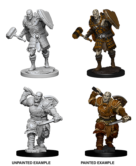 D&D Nolzur's Marvelous Miniatures - Male Goliath Fighter (2 Miniature)