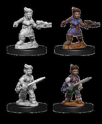 Pathfinder Nolzur's Marvelous Miniatures - Female Halfling Rogue