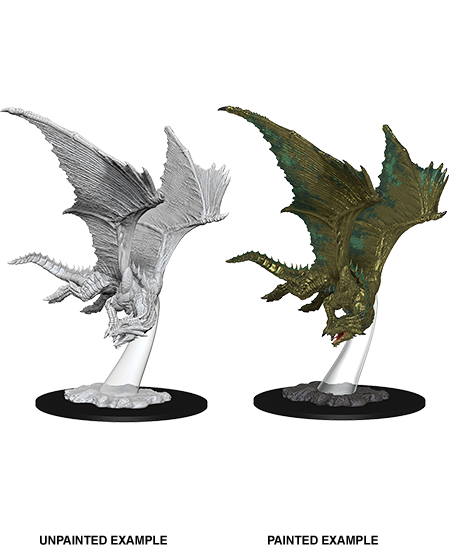 D&D Nolzur's Marvelous Miniatures - Young Bronze Dragon