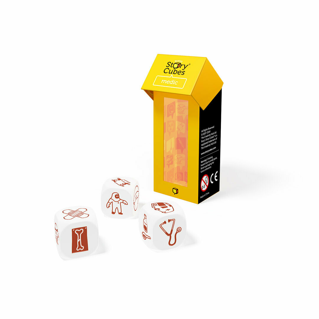 Story Cubes Mix Medicina