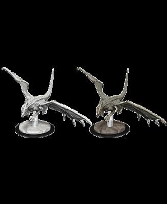 D&D Nolzur's Marvelous Miniatures - Young White Dragon