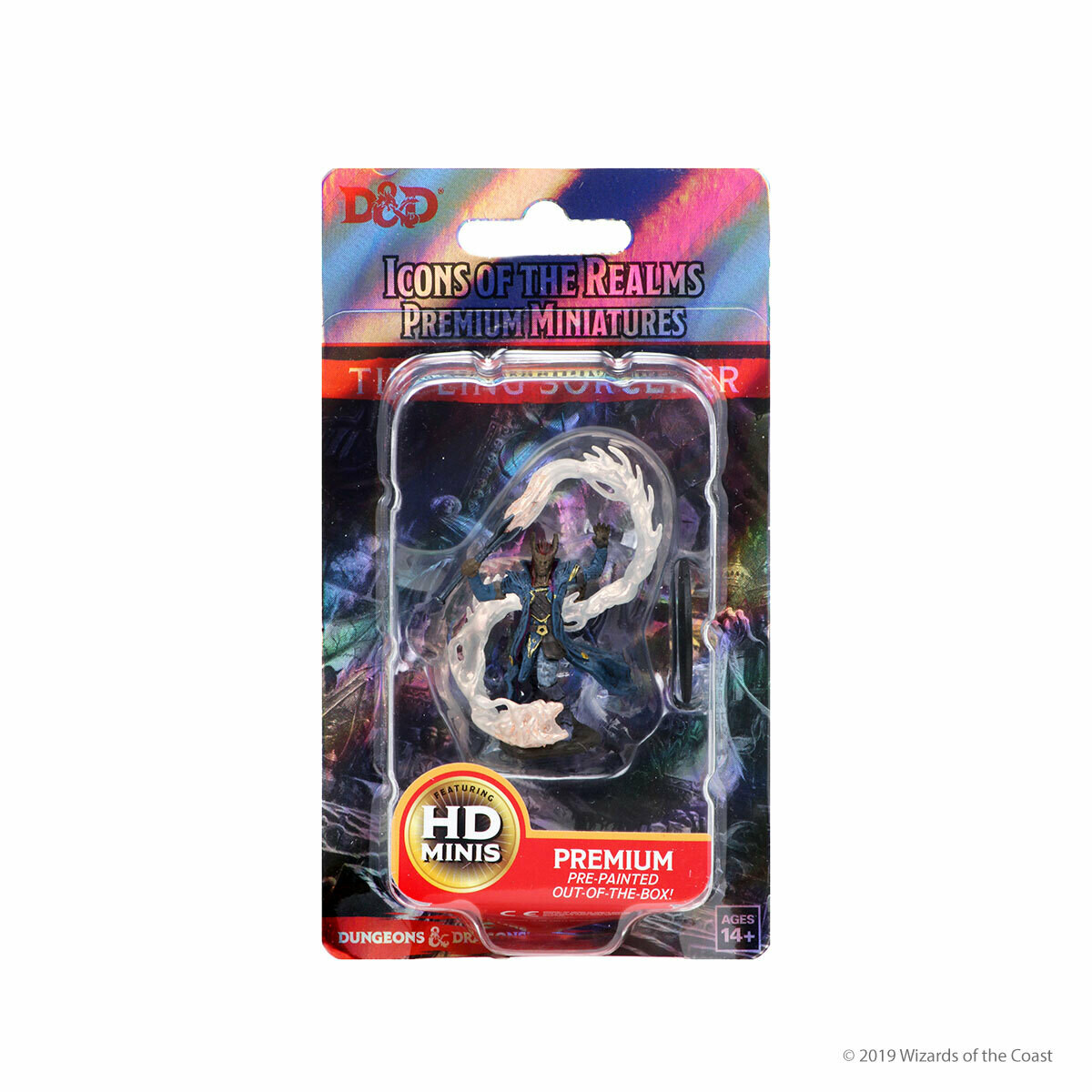 D&D Nolzur's Premium Miniatures - Tiefling Male Sorcerer (1 Miniatura)