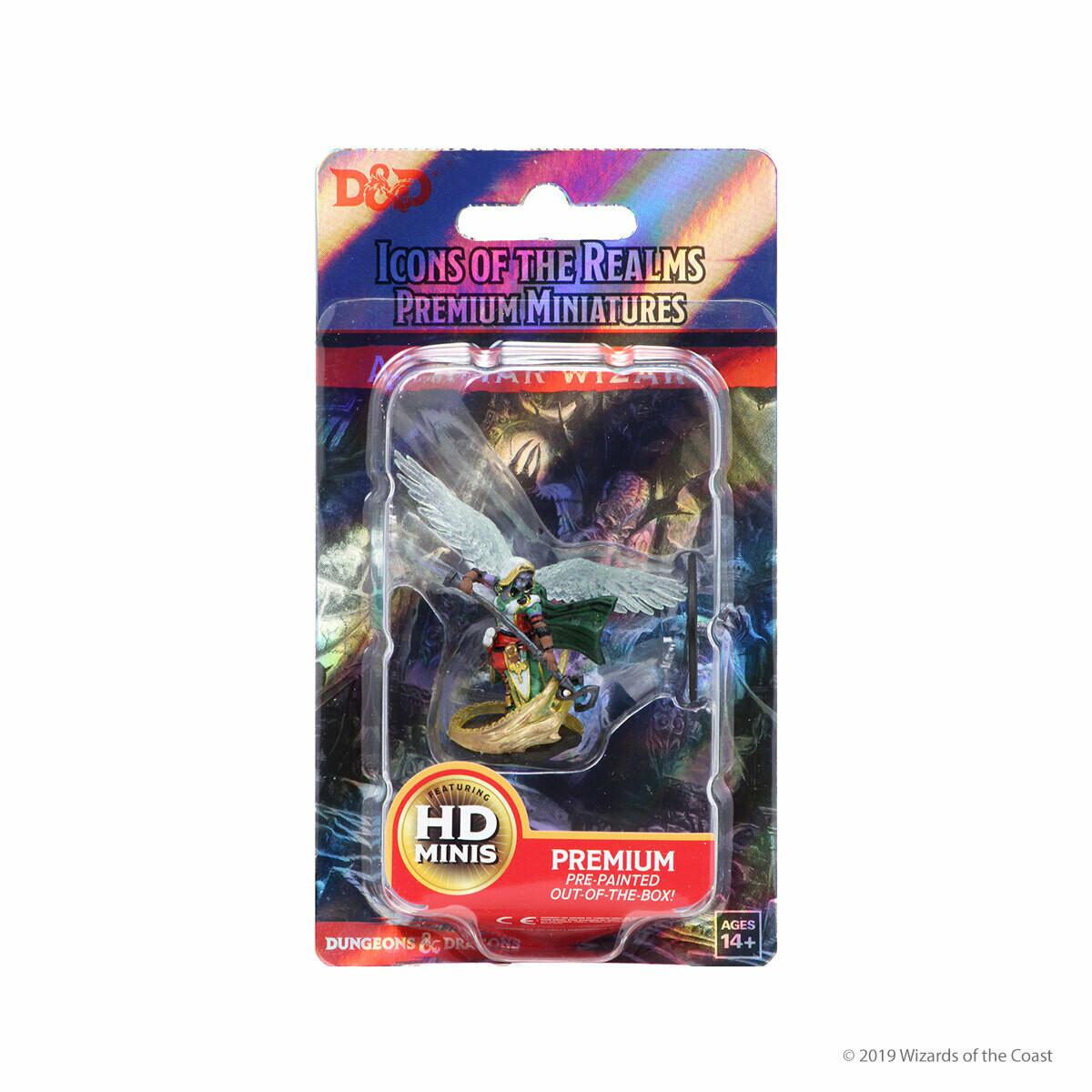 D&D Nolzur's Premium Miniatures - Aasimar Female Wizard (1 Miniatura)