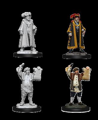 Deep Cuts Nolzur's Marvelous Miniatures - Mayor & Town Crier (2 Miniature)
