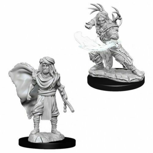 D&D Nolzur's Marvelous Miniatures - Male Human Druid (2 Miniature)