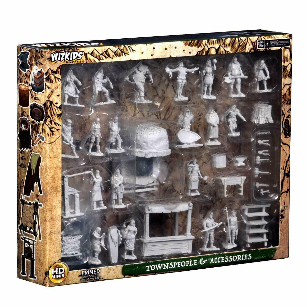 D&D Nolzur's Marvelous Miniatures - Townspeople & Accessories
