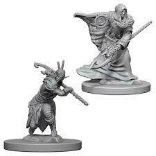 Deep Cuts Nolzur's Marvelous Miniatures - Elf Male Druid (2 Miniature)