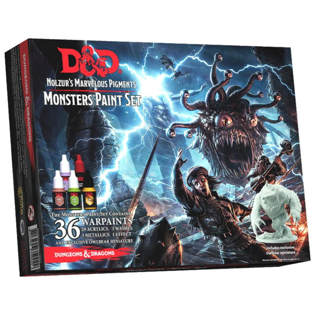 Nolzur's Marvelous Marvelous Pigments - Monsters Paint Set