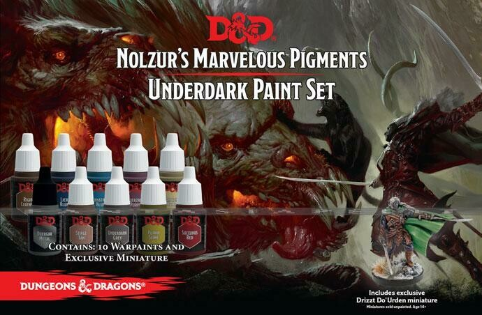 Nolzur's Marvelous Marvelous Pigments - Underdark Paint Set