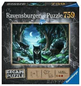 Puzzle Escape Il Branco di Lupi 759p