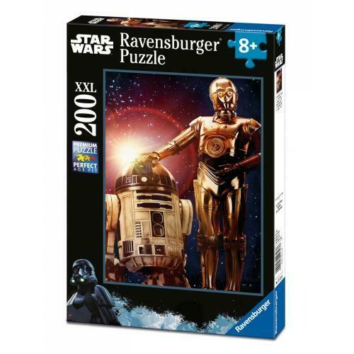 Puzzle Star Wars Amici Droidi 200p xxl