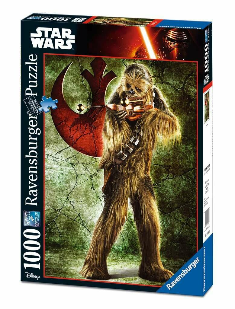 Puzzle Star Wars Chewbacca 1000p