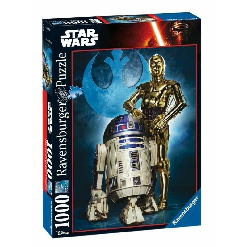 Puzzle Star Wars R2-D2 & C-3PO1000p