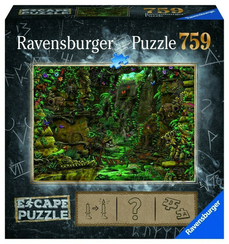 Puzzle Escape Tempio 759p