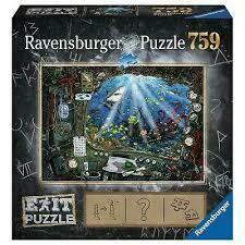 Puzzle Escape Sommergibile 759p