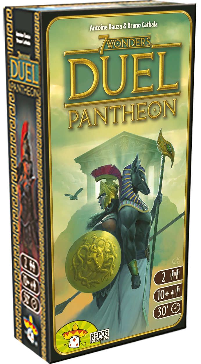 7 Wonders - Duel Pantheon