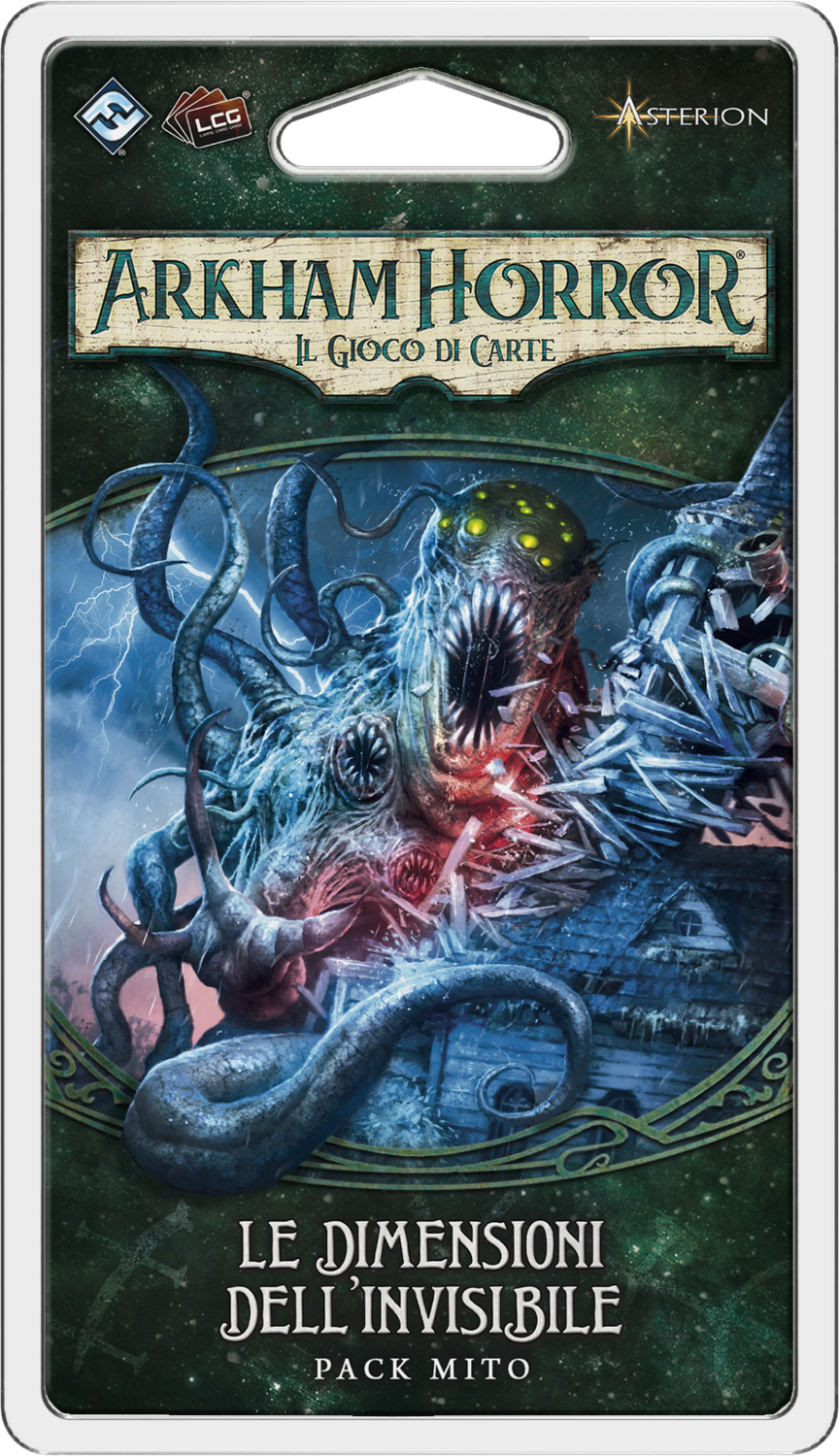 Arkham Horror LCG - Le Dimensioni dell'Invisibile