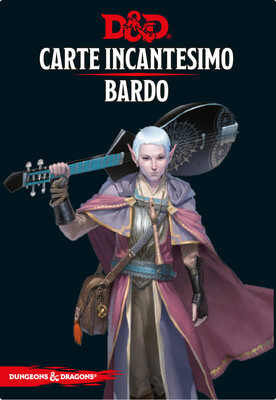 D&D Carte Incantesimo Bardo - Quinta Ed.