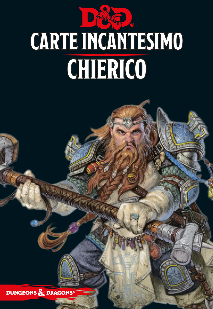 D&D Carte Incantesimo Chierico - Quinta Ed.