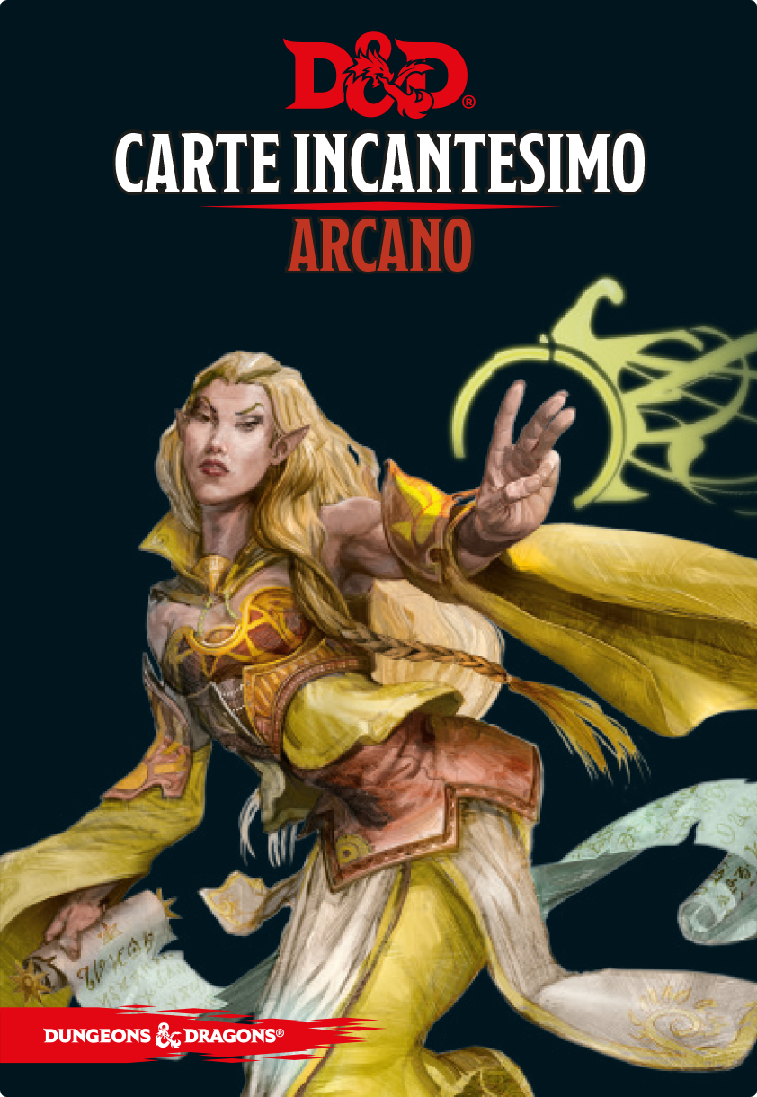 D&D Carte Incantesimo Arcano - Quinta Ed.