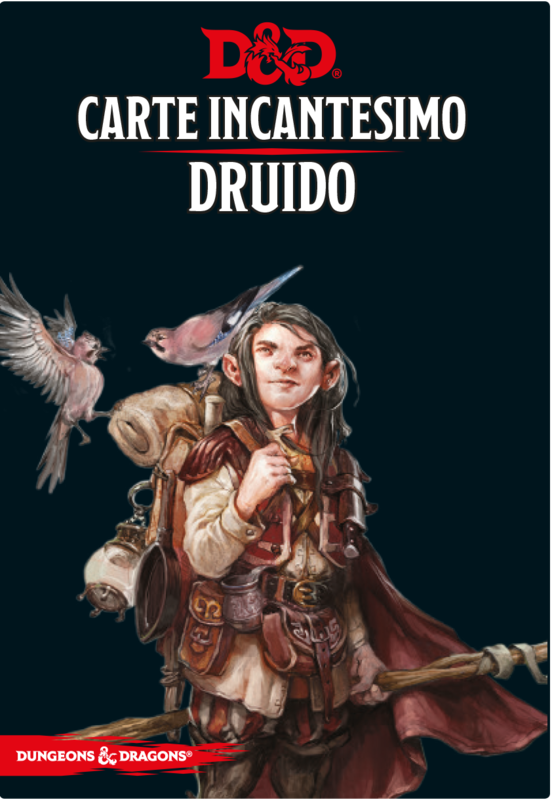 D&D Carte Incantesimo Druido - Quinta Ed.
