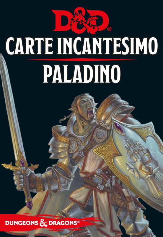 D&D Carte Incantesimo Paladino - Quinta Ed.