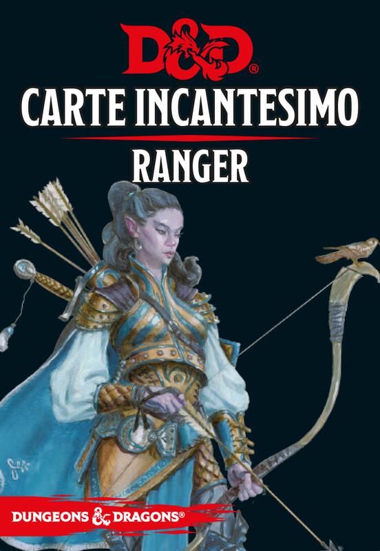 D&D Carte Incantesimo Ranger - Quinta Ed.