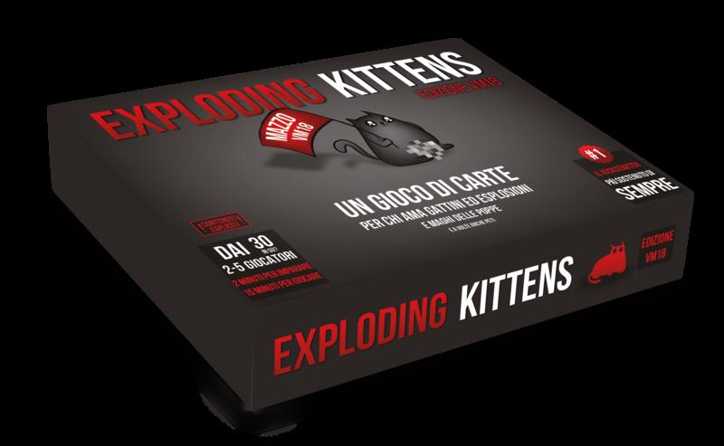 Exploding Kittens V.M.18