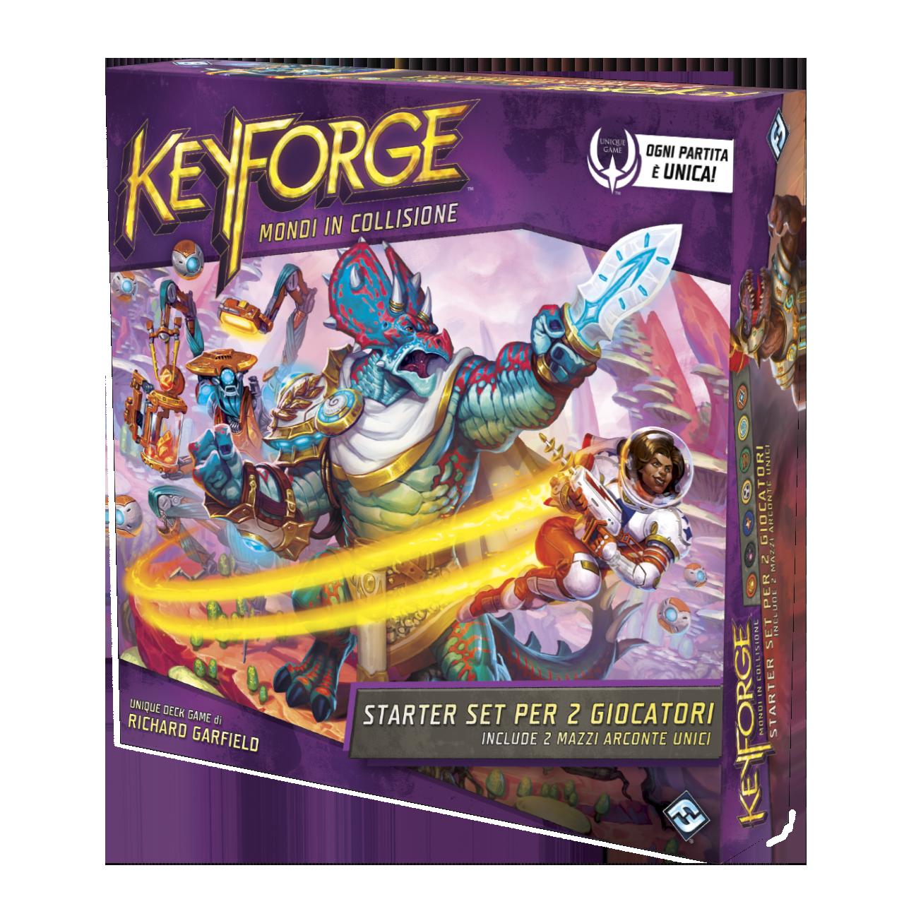 Keyforge Starter - Mondi in collisione (scatola viola)