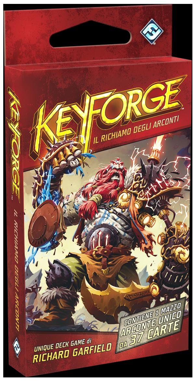 Keyforge Mazzo - Il Richiamo degli Arconti (scatola rossa)