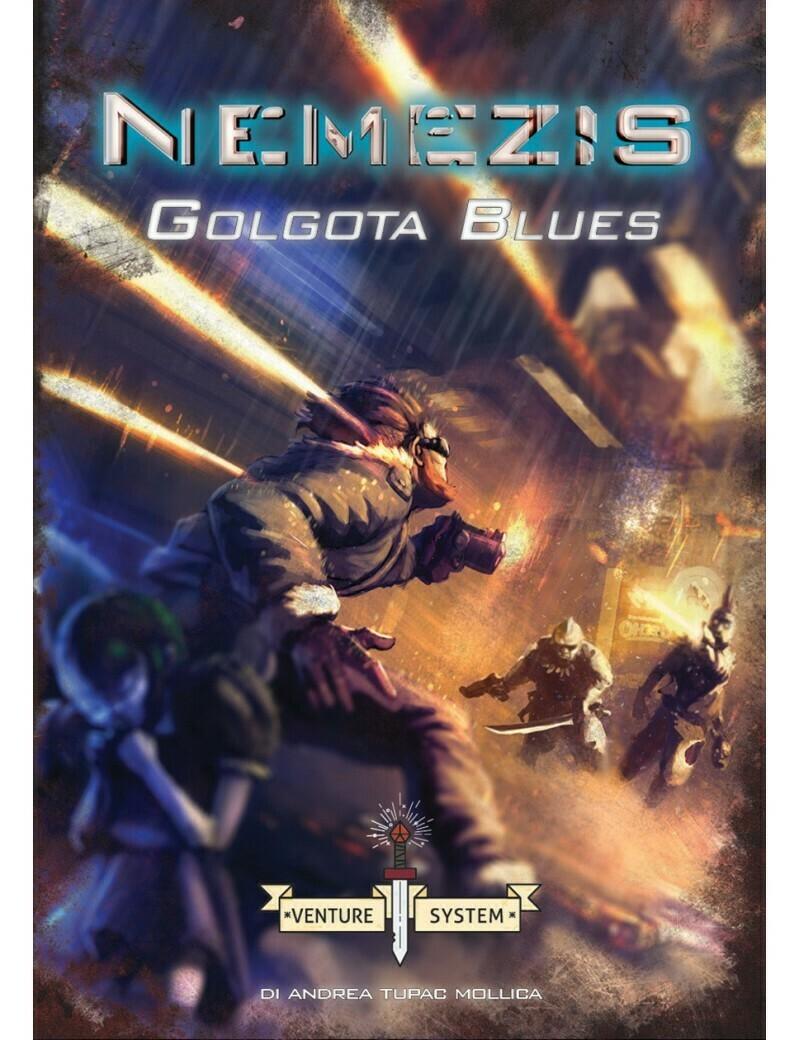 Nemezis - Golgota Blues (Librogame)