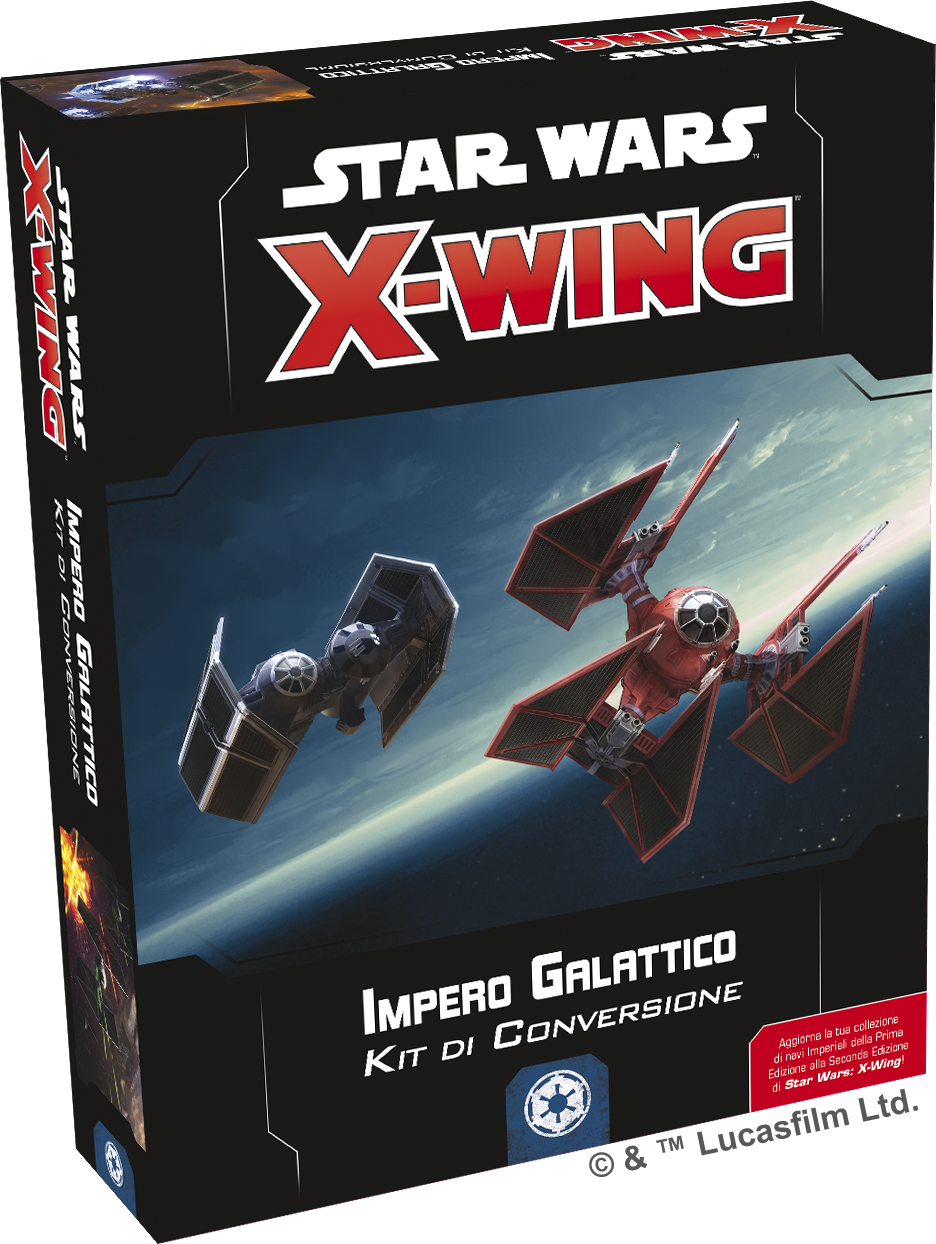 Star Wars X-Wing Seconda Ed. - Kit di Conversione Impero Galattico