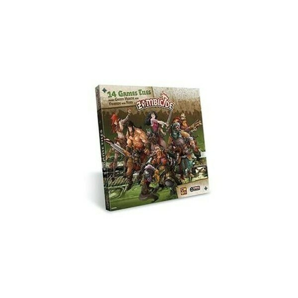 Zombicide - 14 Game Tiles, Espansione di Green Horde